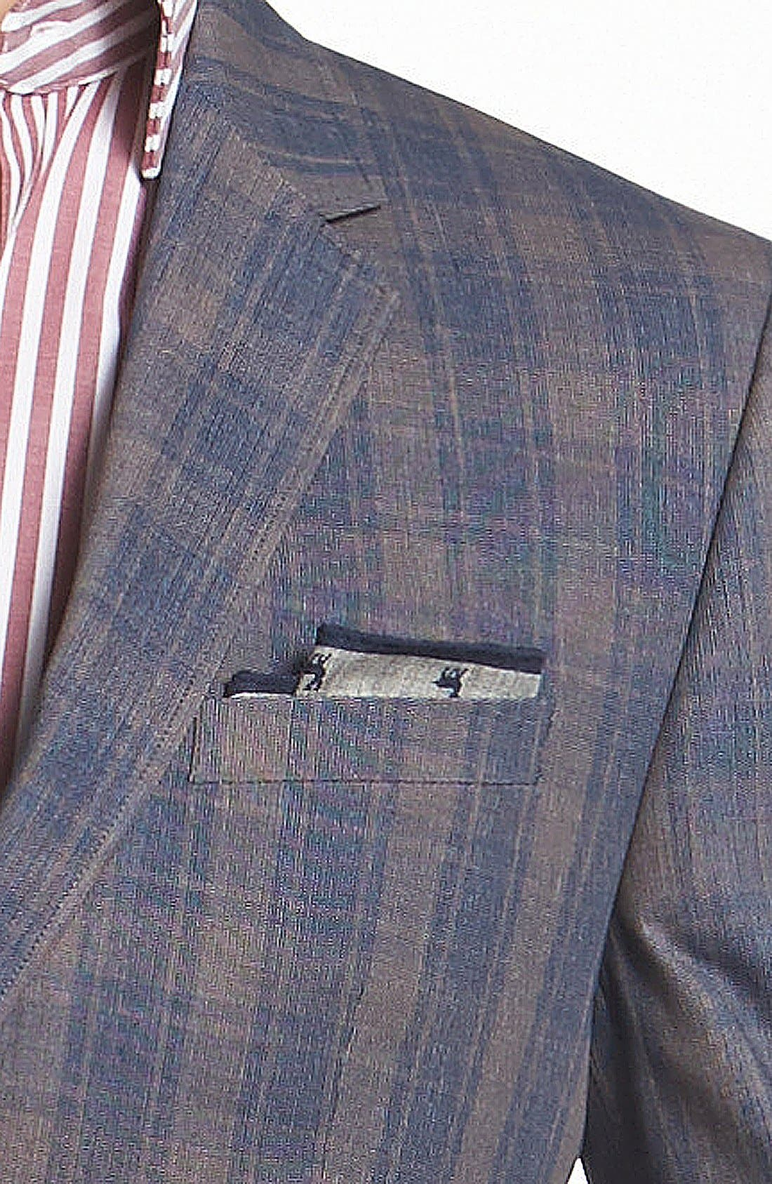 Alternate Image 2  - HUGO 'Aeris' Extra Trim Fit Cotton Sportcoat