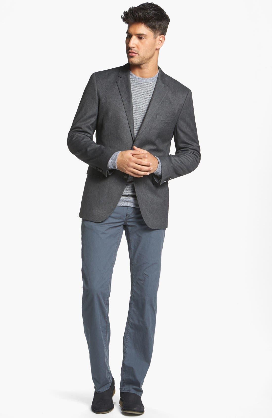 Alternate Image 4  - BOSS HUGO BOSS 'Coastes' Trim Fit Sportcoat
