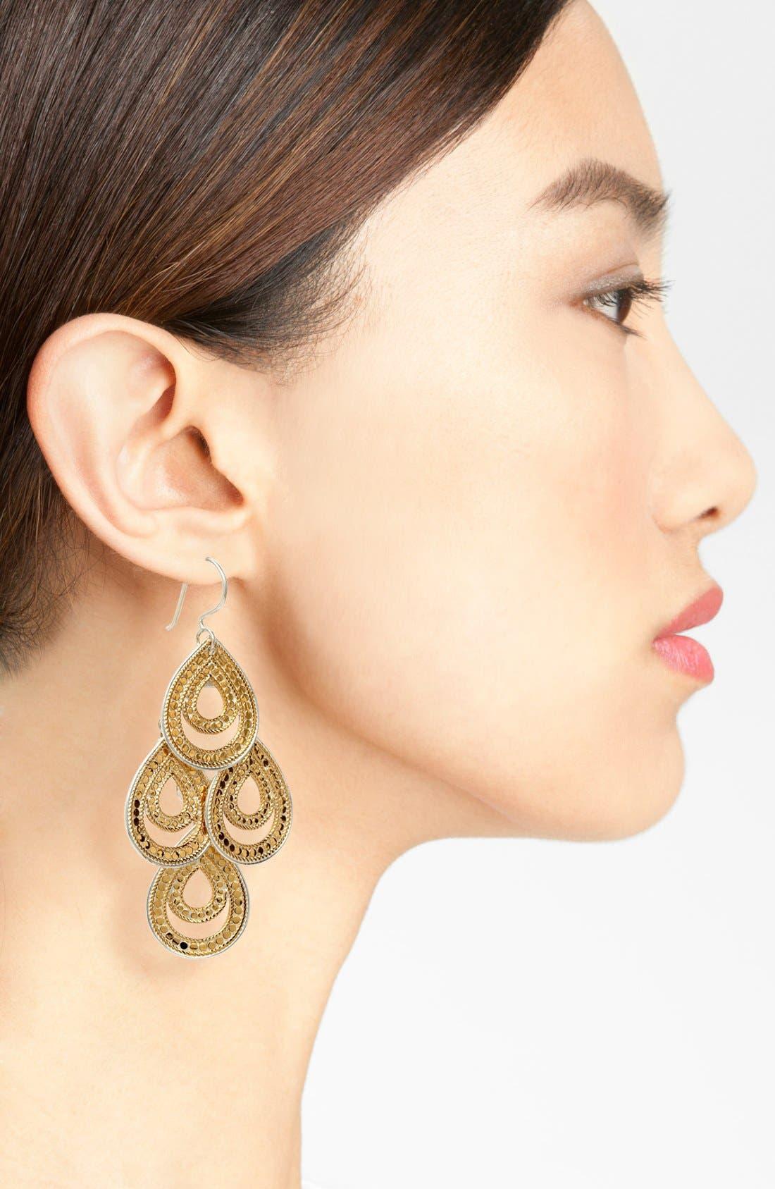 Alternate Image 2  - Anna Beck 'Gili' Open Chandelier Earrings