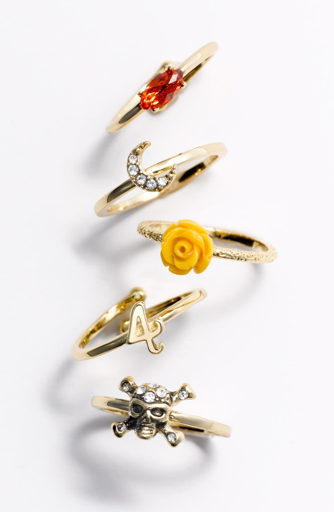 Alternate Image 2  - Ariella Collection Owl Ring (Nordstrom Exclusive)