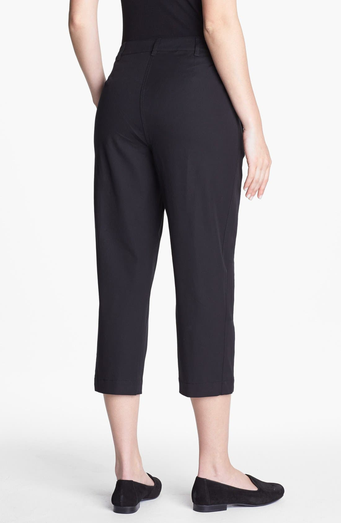 Alternate Image 2  - Eileen Fisher Slim Capri Pants