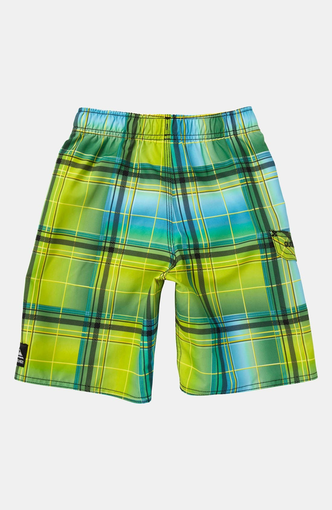 Alternate Image 2  - Quiksilver 'Tronic' Board Shorts (Toddler Boys)