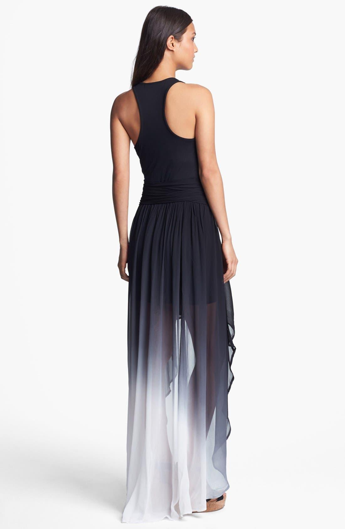 Alternate Image 2  - Young, Fabulous & Broke 'Kula' Ombré Maxi Dress