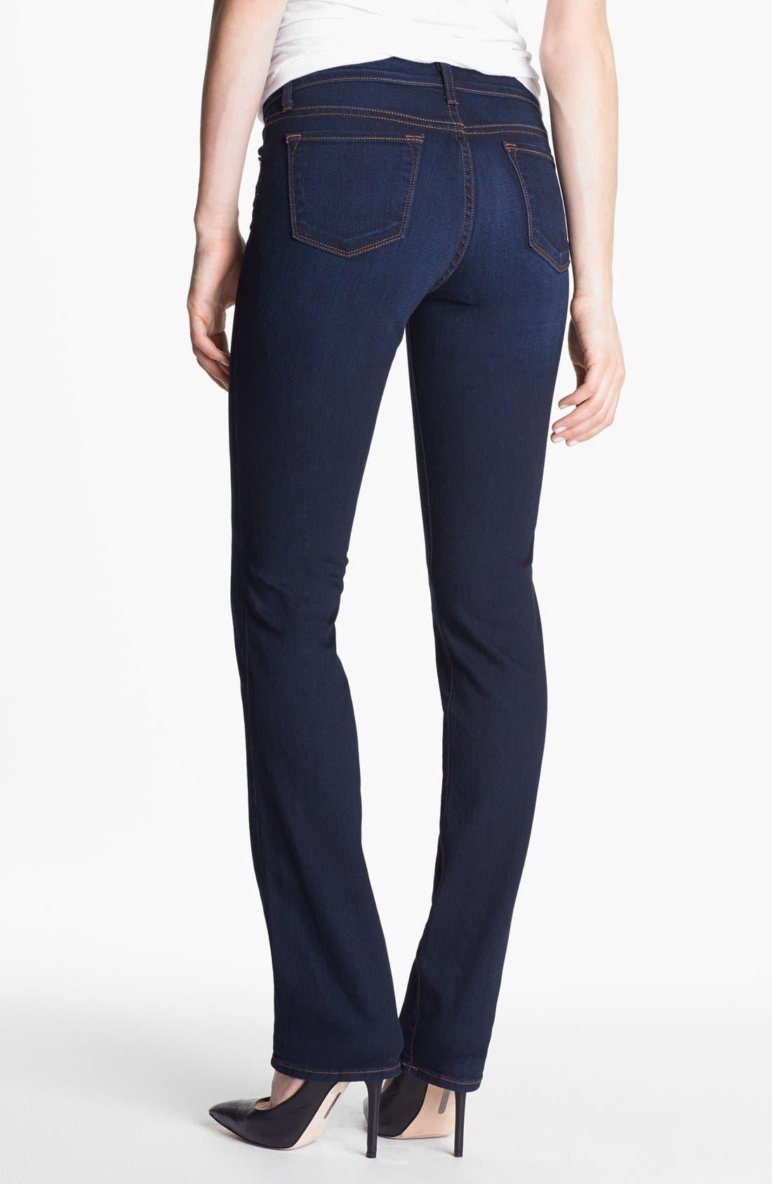 Alternate Image 2  - J Brand '814' Mid-Rise Cigarette Leg Jeans (Ignite)