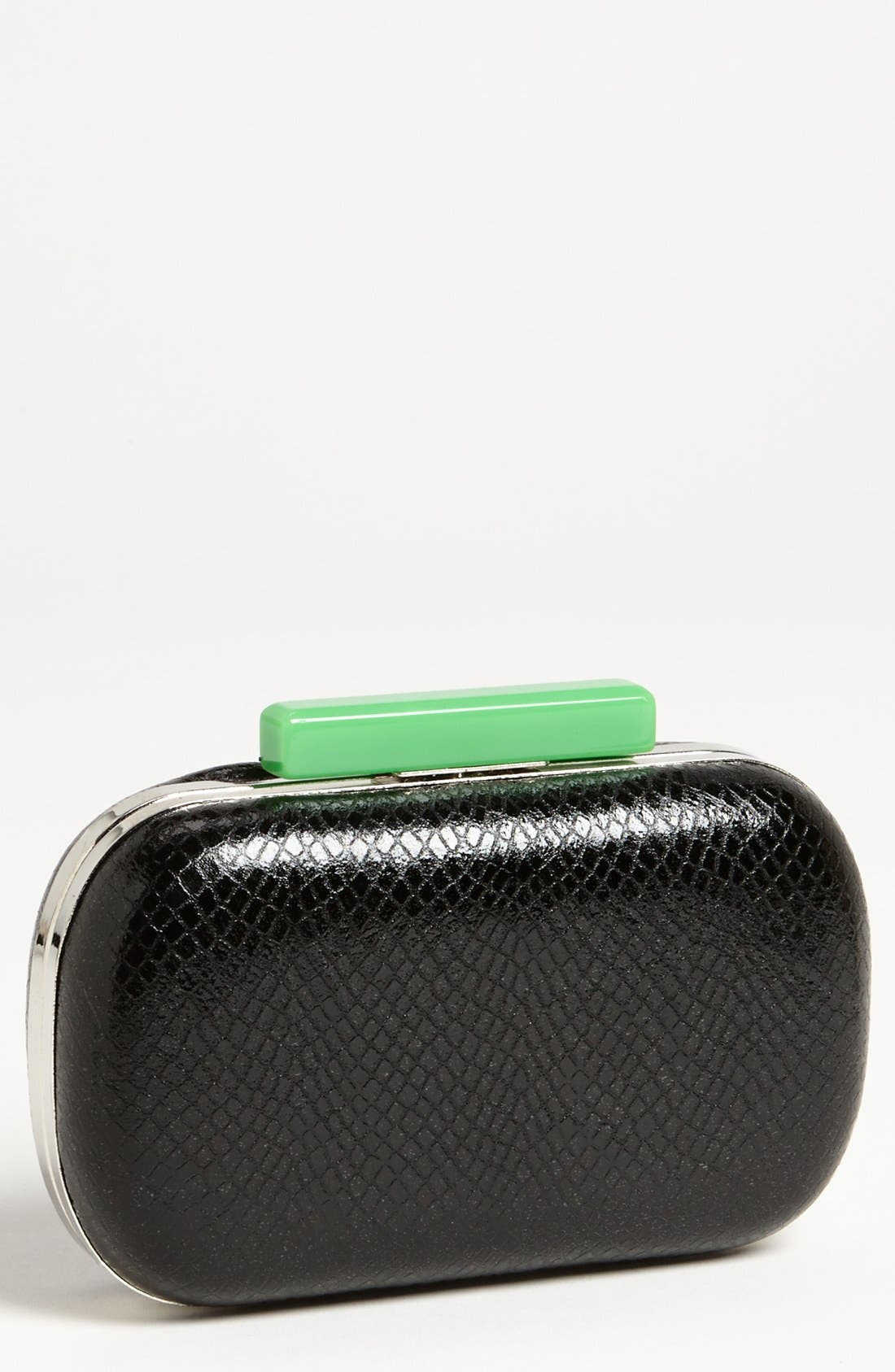 Alternate Image 1 Selected - Expressions NYC Faux Leather Minaudière