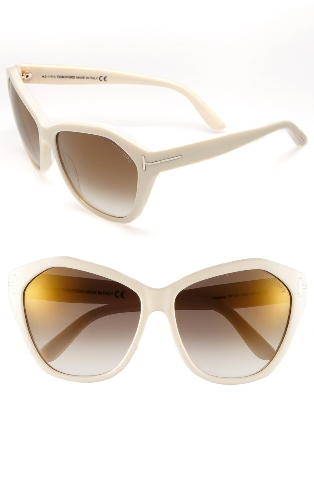 Alternate Image 1 Selected - Tom Ford 'Casandra' 61mm Sunglasses