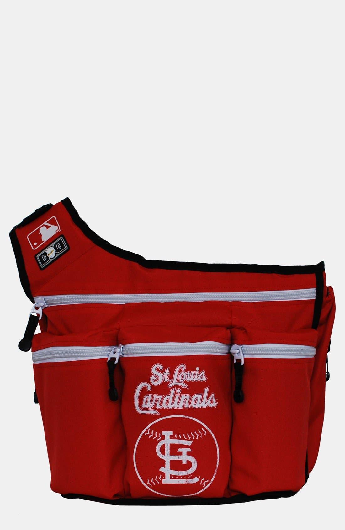 Alternate Image 1 Selected - Diaper Dude 'St. Louis Cardinals' Messenger Diaper Bag