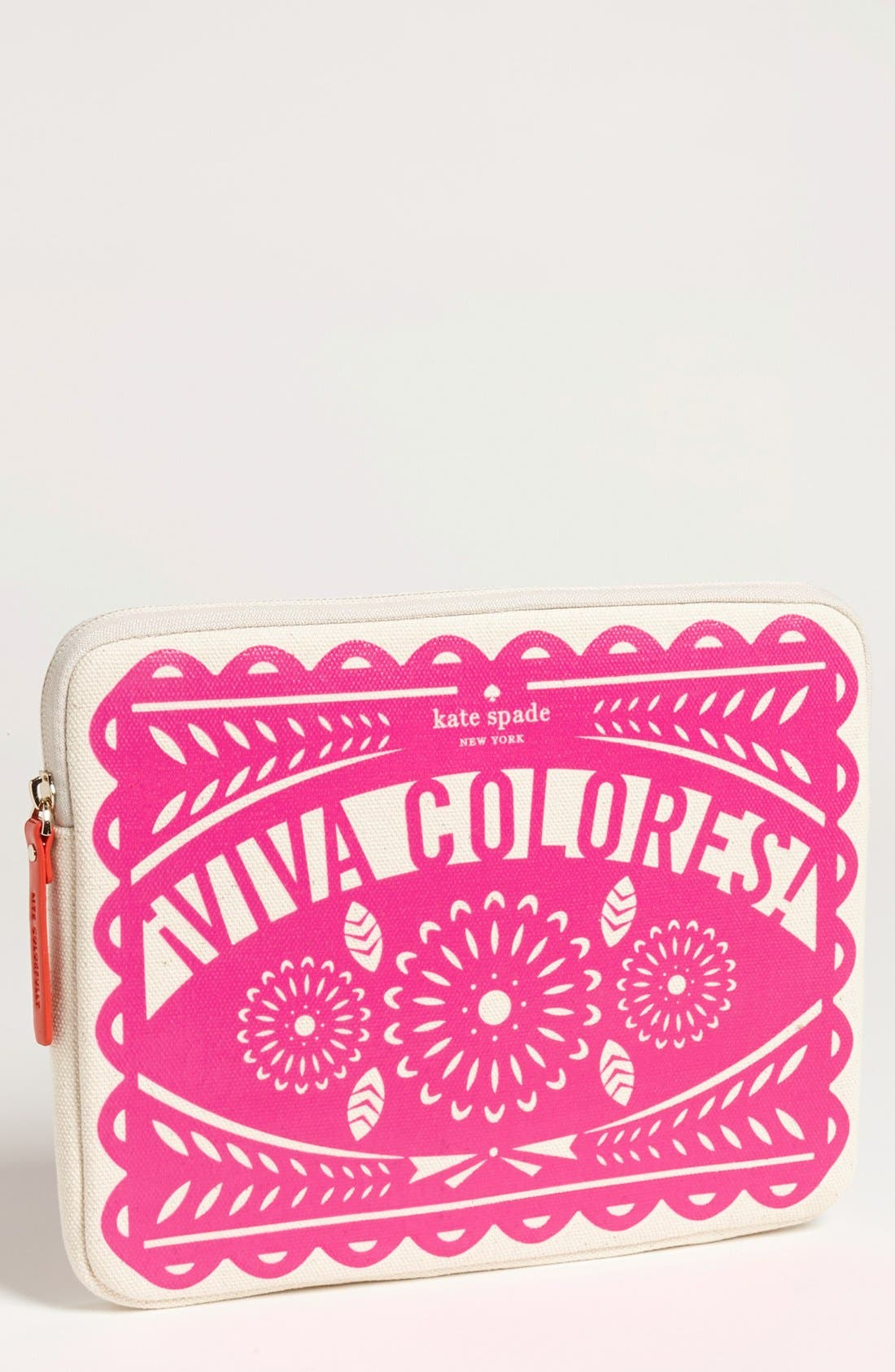 Main Image - kate spade new york 'viva colores' iPad sleeve