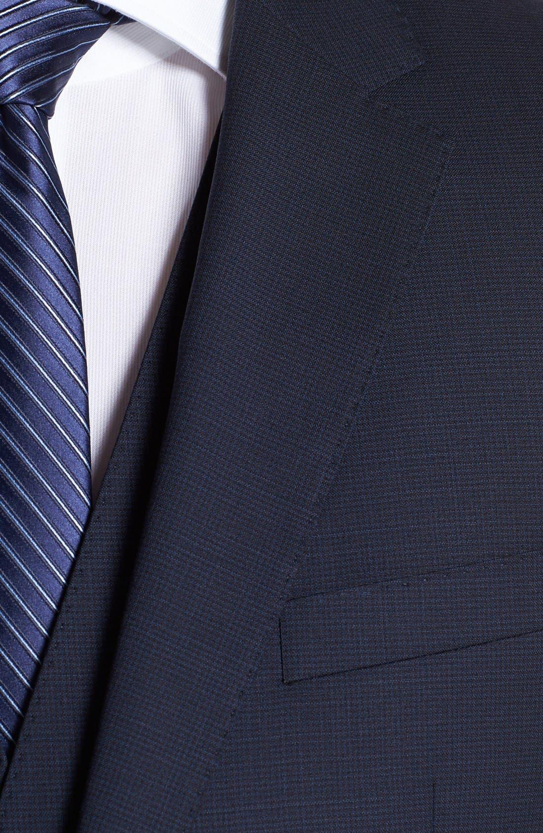 Alternate Image 2  - BOSS HUGO BOSS 'James/Sharp' Trim Fit Three-Piece Suit