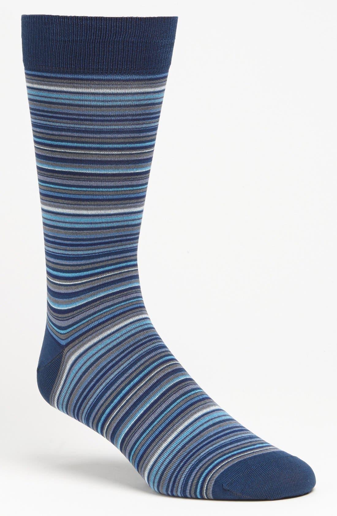 Alternate Image 1 Selected - Marcoliani 'Mirage' Stripe Socks