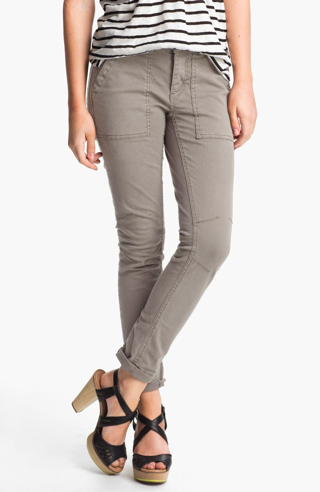 Alternate Image 1 Selected - Free People Skinny Utility Pants