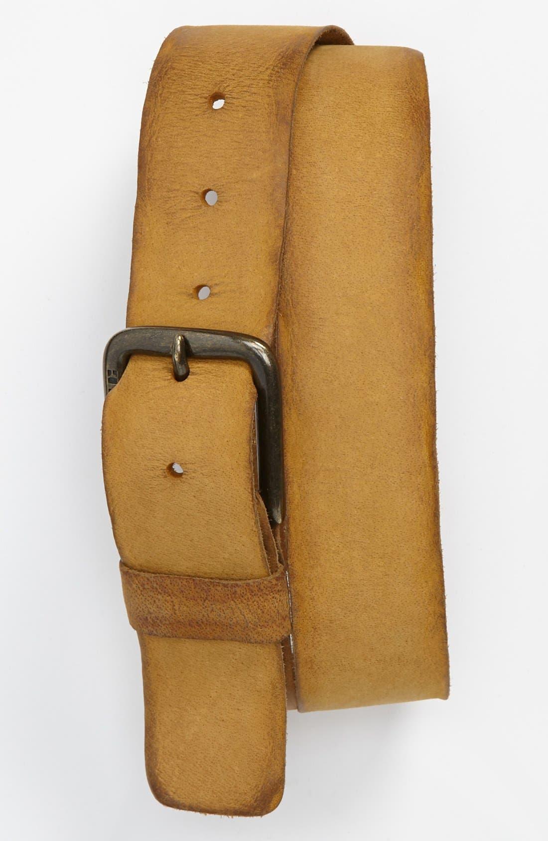 Alternate Image 1 Selected - BOSS Orange 'Bibol' Buffalo Leather Belt