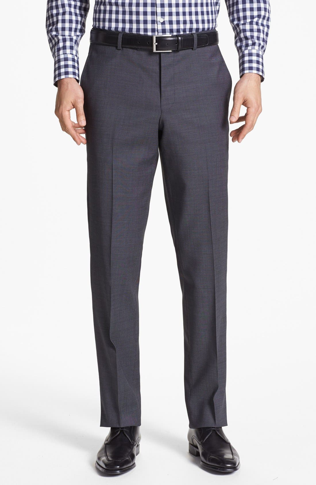 Alternate Image 6  - Ted Baker London Jones Trim Fit Wool Suit
