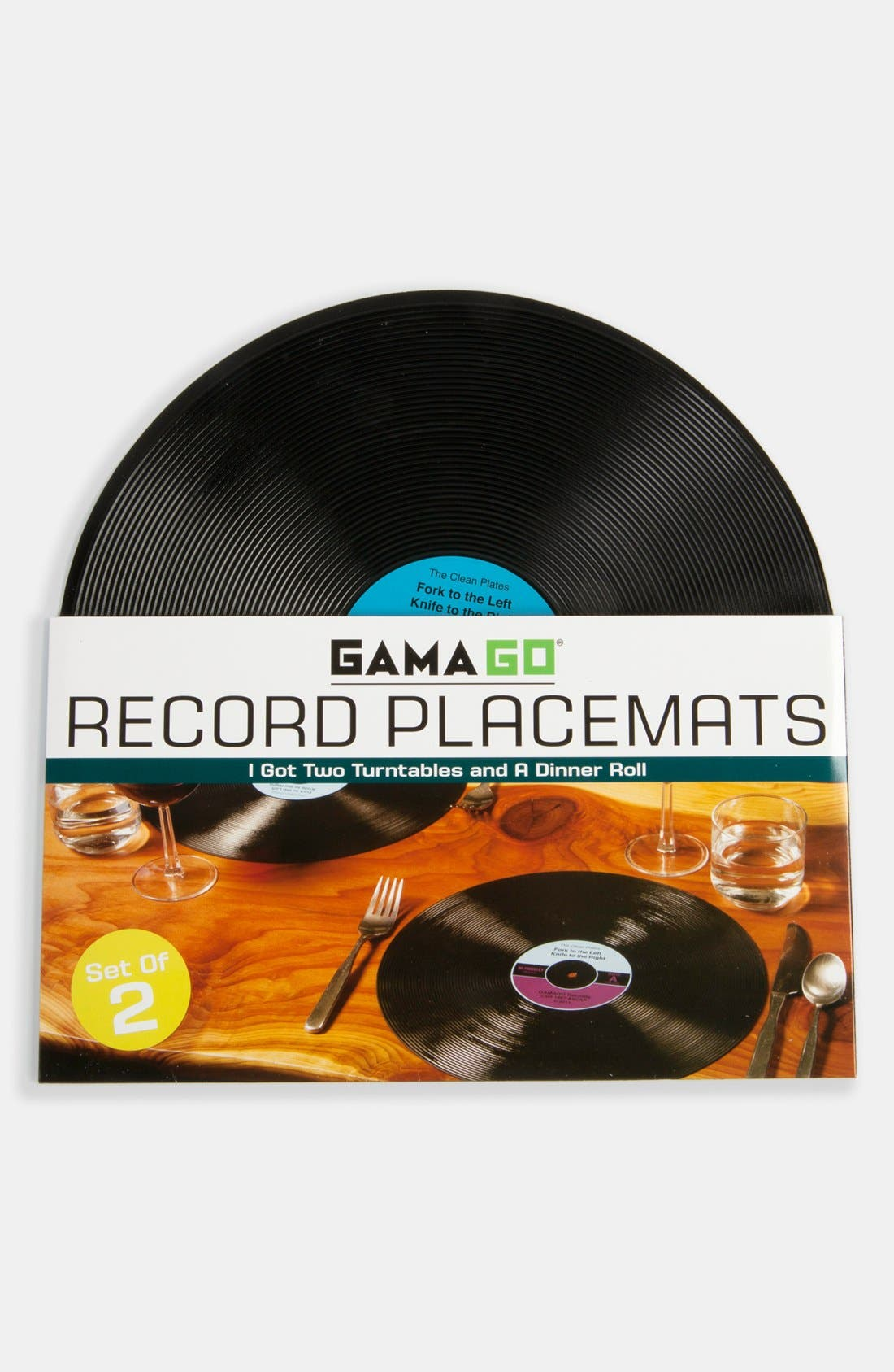 Alternate Image 2  - Record Placemats (Set of 2)