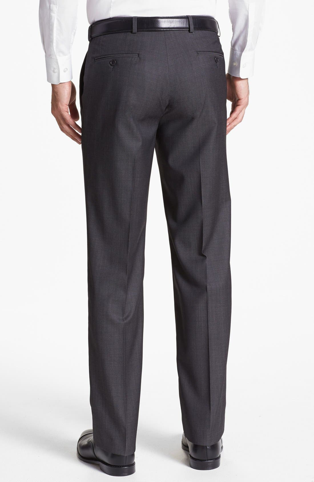 Alternate Image 2  - John Varvatos Star USA  'Thompson' Flat Front Trousers