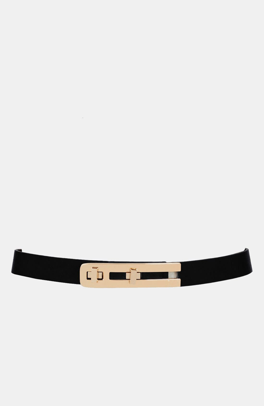 Alternate Image 1 Selected - Topshop Metal Bar Belt