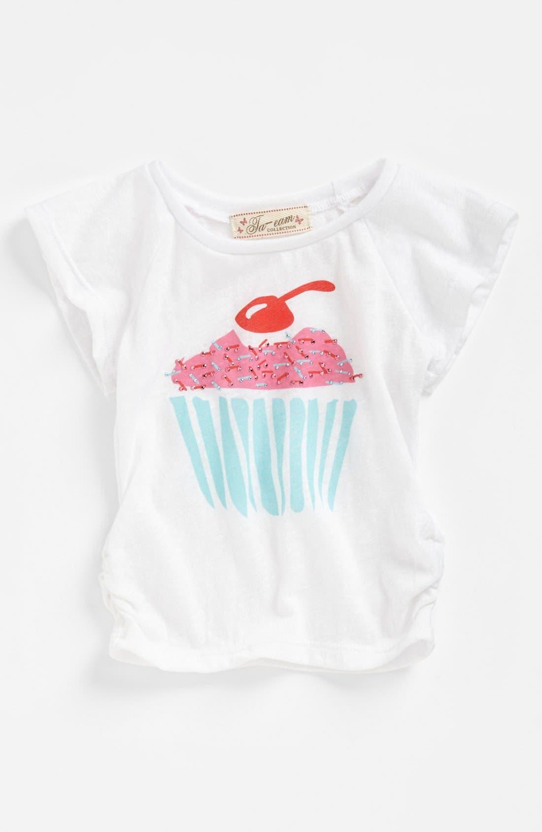 Alternate Image 1 Selected - TA-EAM 'Cupcake' Top (Baby Girls)