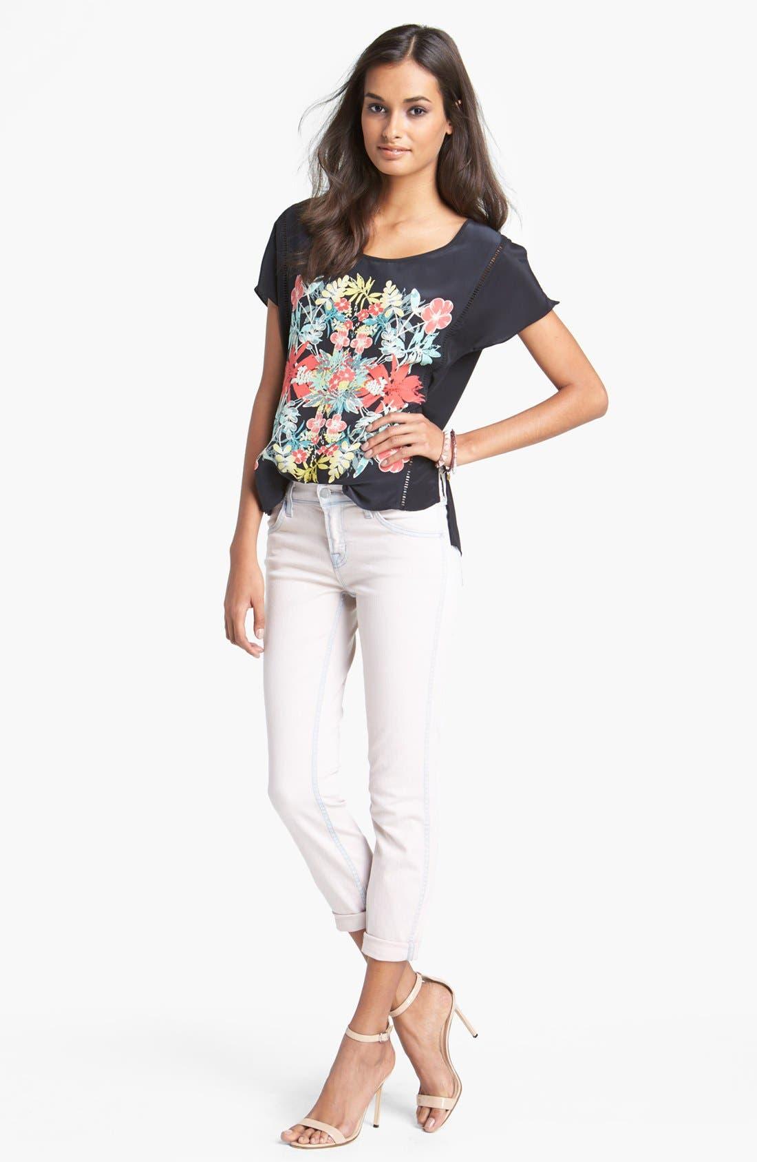 Alternate Image 4  - J Brand 'Allegra' Ankle Skinny Jeans (Nirvana Magnolia)