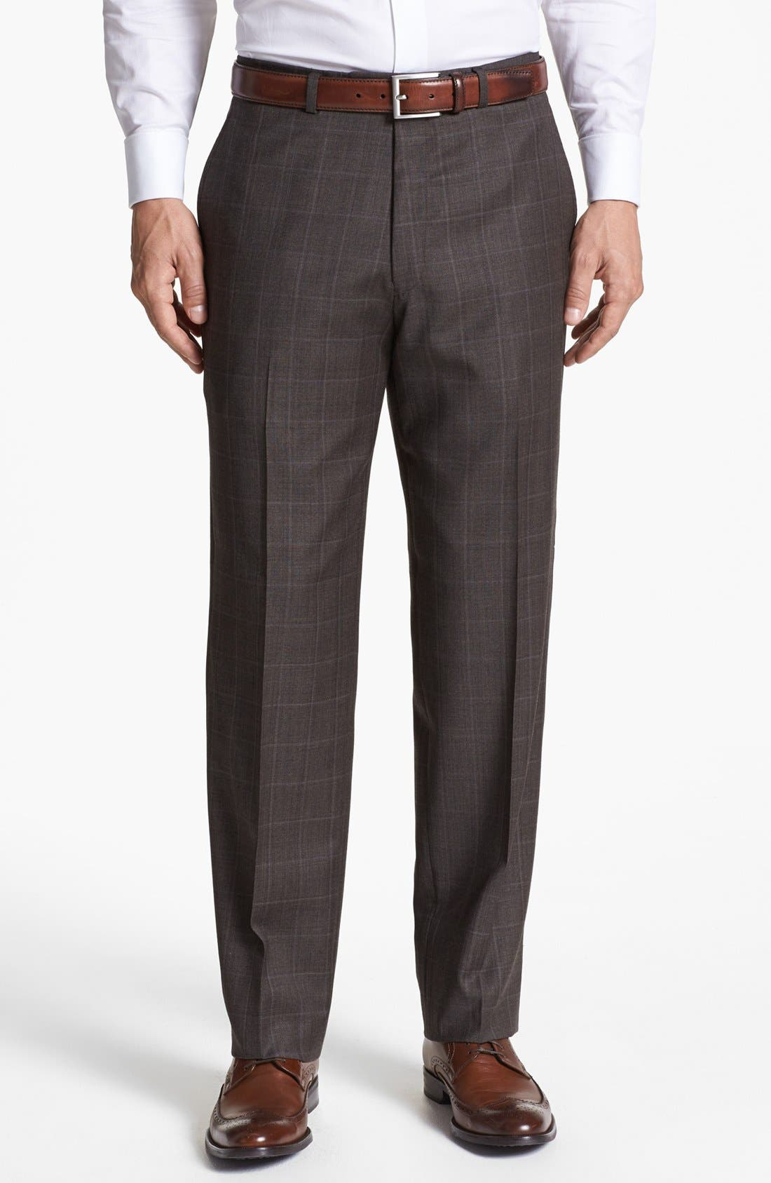 Alternate Image 5  - Hart Schaffner Marx Classic Fit Plaid Suit