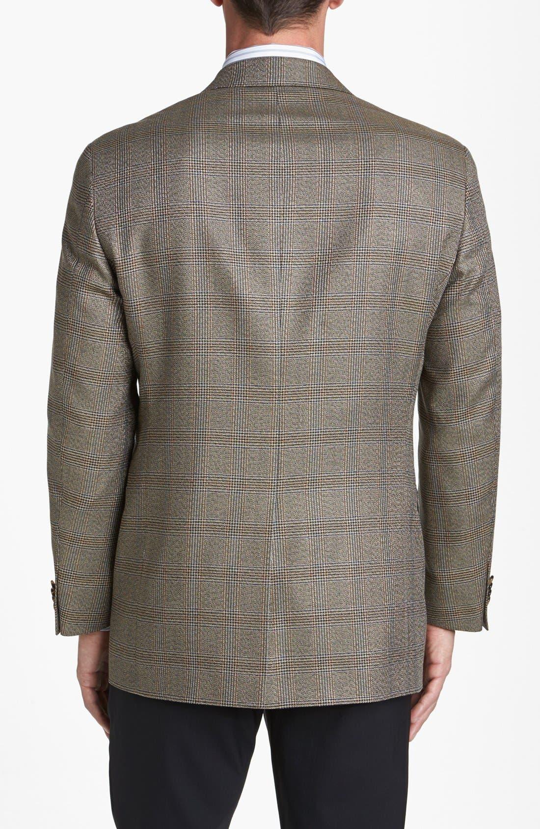 Alternate Image 3  - Hart Schaffner Marx Classic Fit Plaid Sportcoat