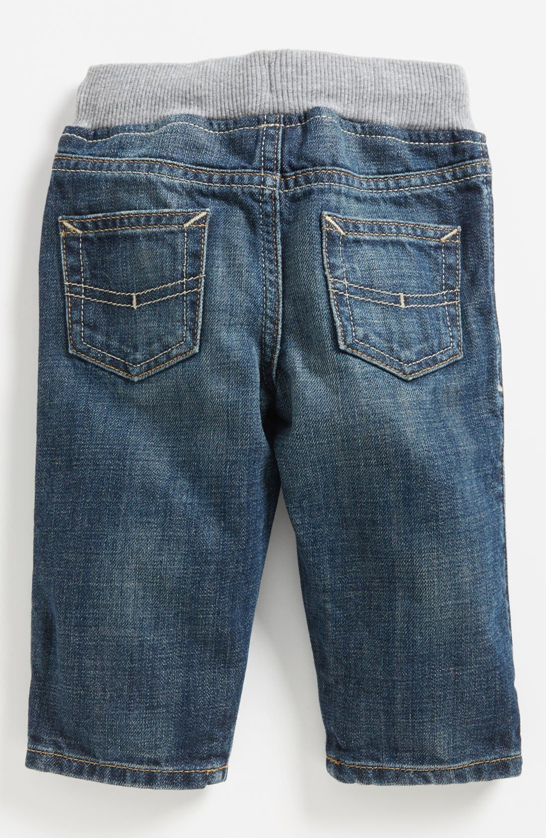 Alternate Image 1 Selected - Tucker + Tate Ribbed Waistband Jeans (Baby Boys)