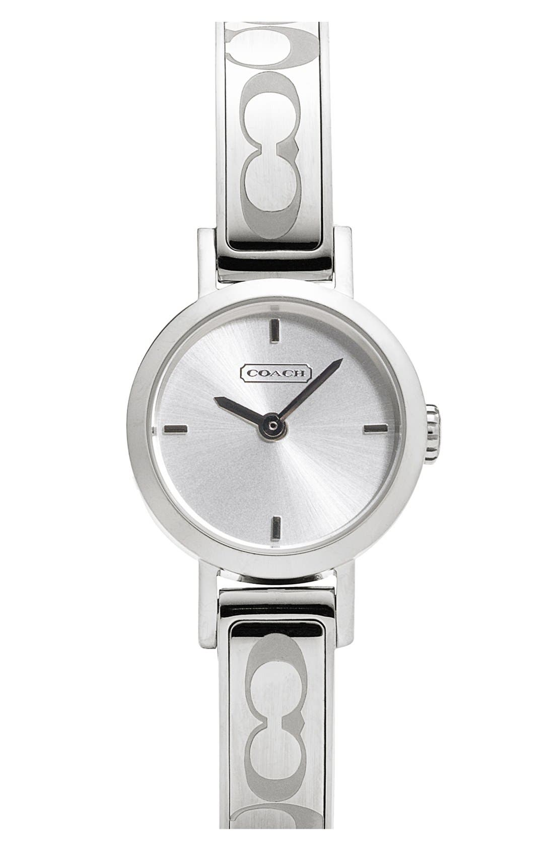 Alternate Image 1 Selected - COACH 'Signature Studio' Bangle Watch, 22mm