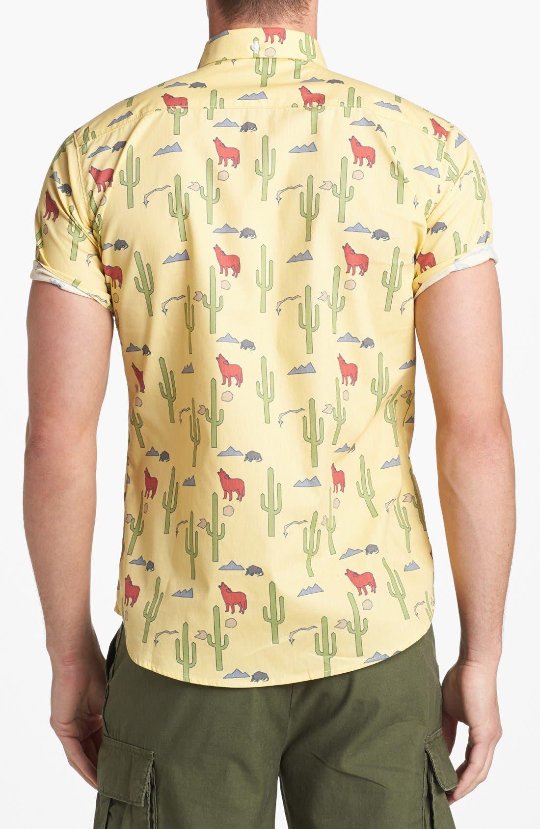 Alternate Image 3  - ambsn 'Danny' Short Sleeve Sport Shirt