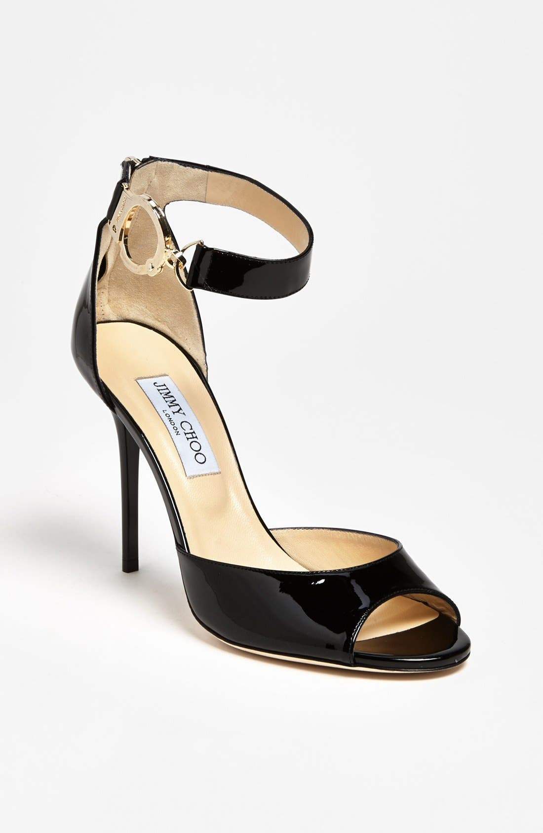 Alternate Image 1 Selected - Jimmy Choo 'Hand Cuff' Sandal