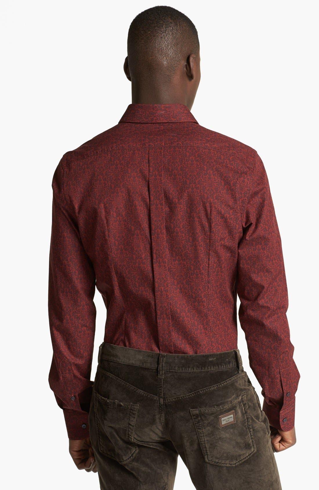 Alternate Image 2  - Dolce&Gabbana Print Woven Sport Shirt