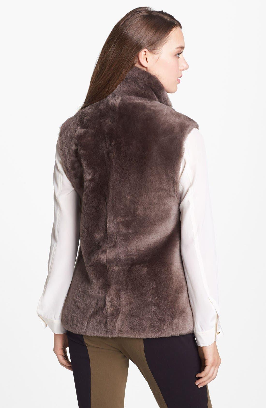 Alternate Image 2  - MARC BY MARC JACOBS 'Hudson' Genuine Shearling Vest