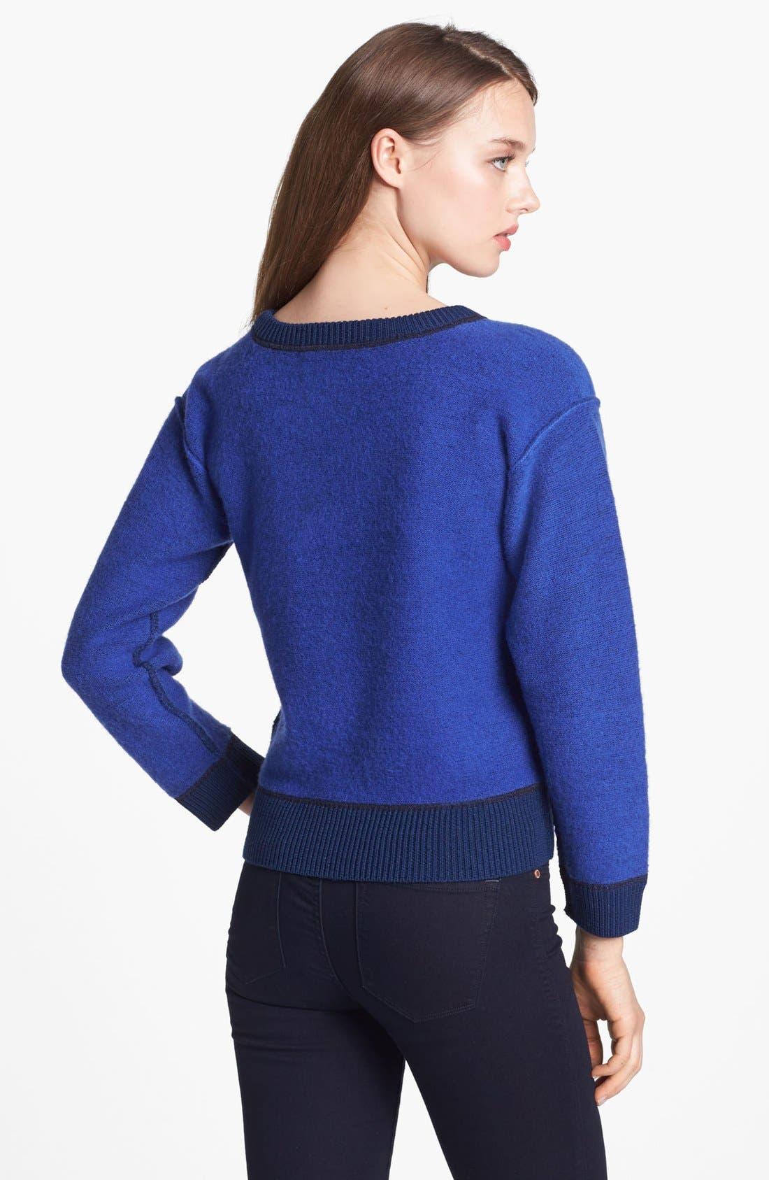 Alternate Image 2  - MARC BY MARC JACOBS 'Harriet' Crop Wool Sweater