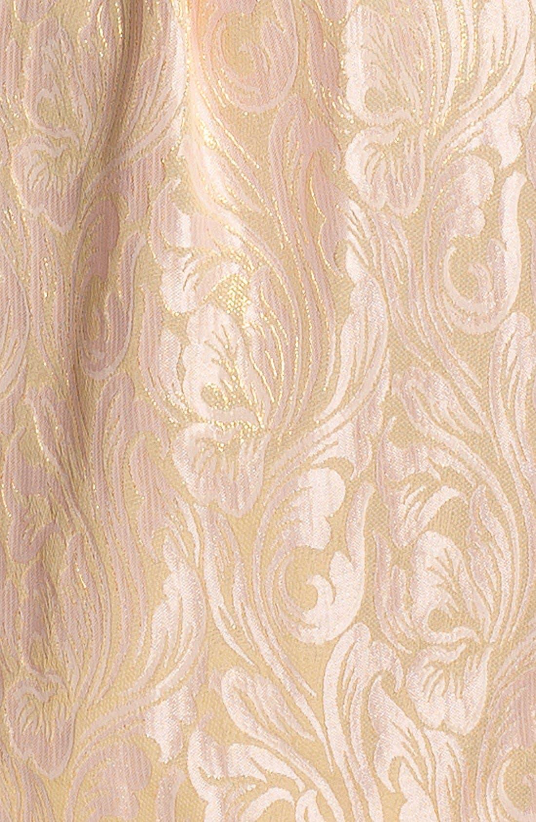 Alternate Image 3  - Eliza J Sleeveless Brocade Fit & Flare Dress