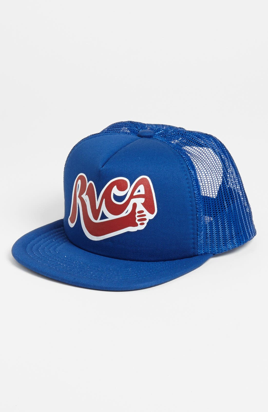 Alternate Image 1 Selected - RVCA Trucker Hat (Big Boys)