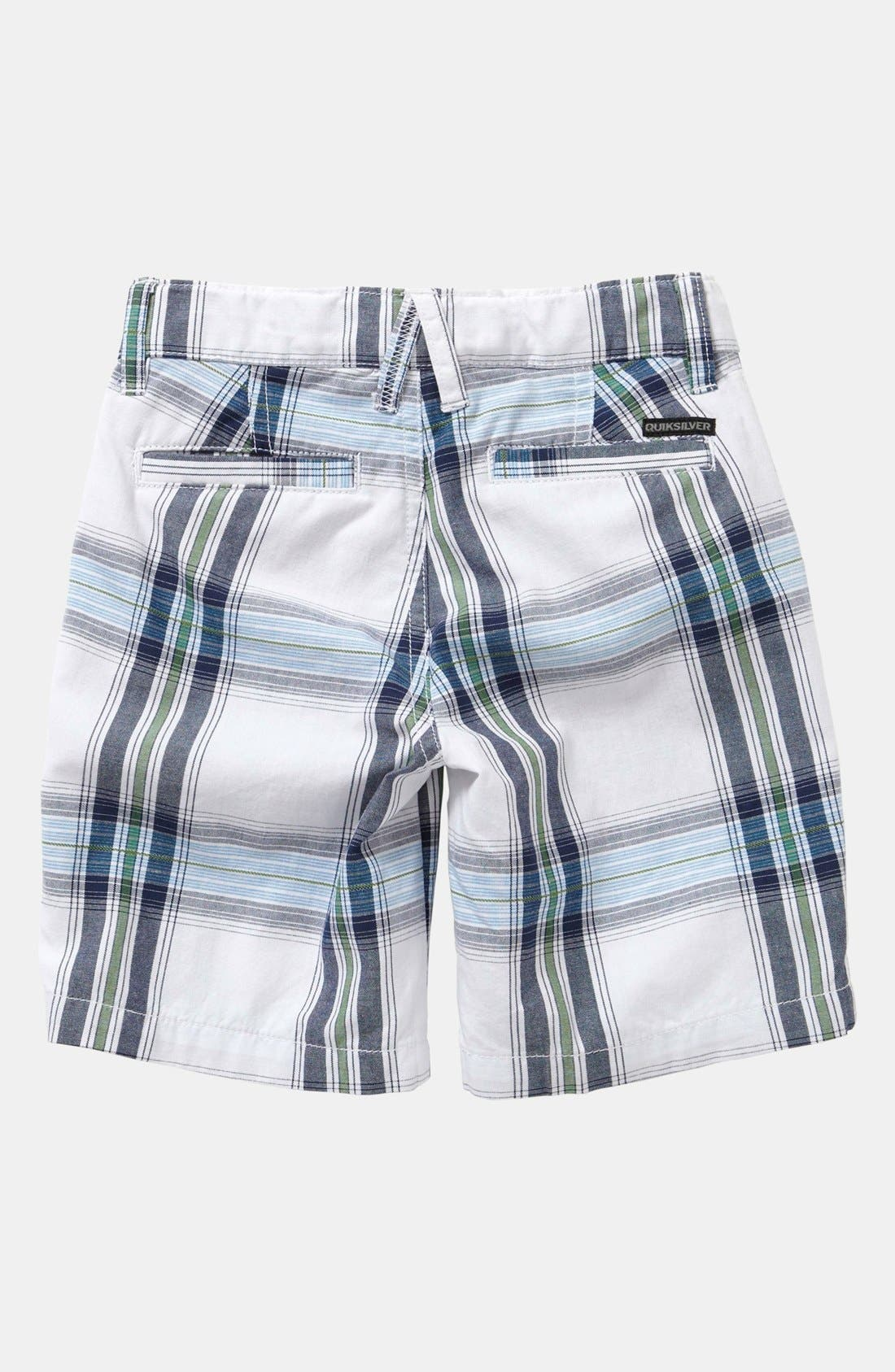 Alternate Image 2  - Quiksilver 'Outstanding' Plaid Shorts (Toddler Boys)