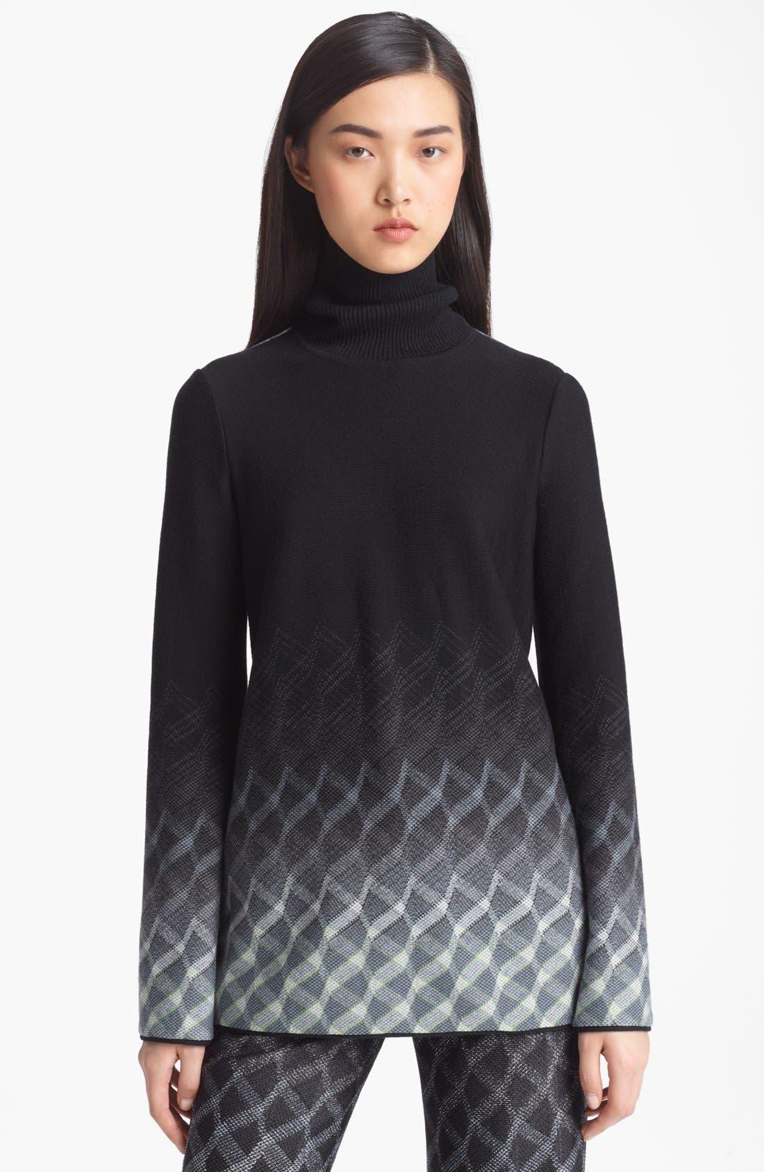Alternate Image 1 Selected - Missoni Open Back Turtleneck Sweater