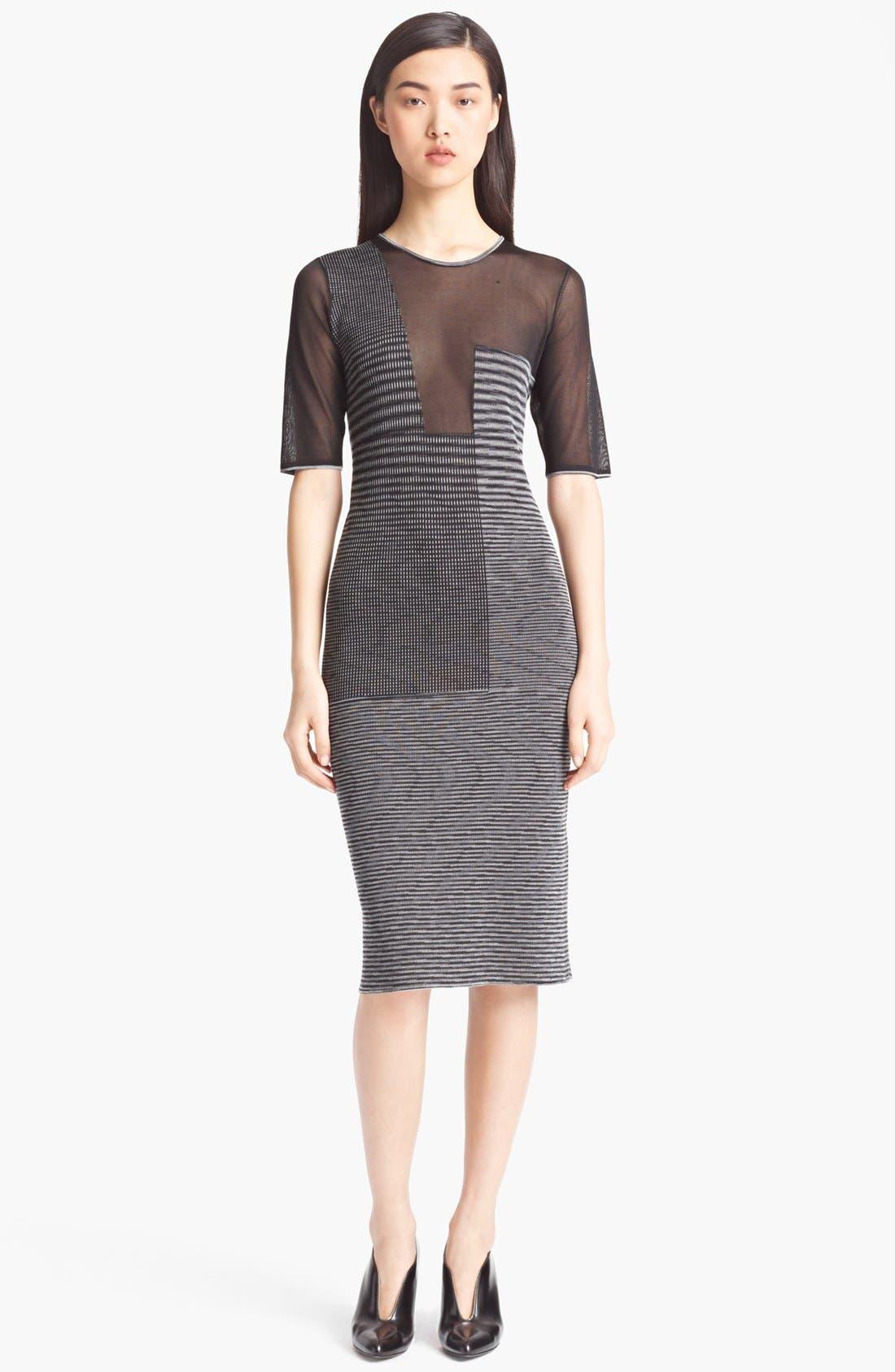 Alternate Image 1 Selected - Missoni Sheer Panel Dress