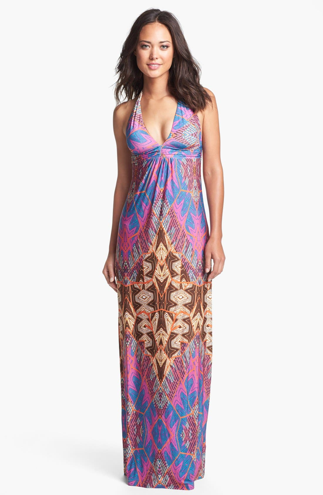 Alternate Image 1 Selected - ViX Swimwear 'St. Martin' Cover-Up Maxi Dress