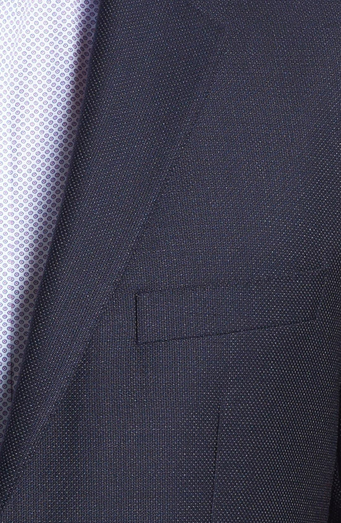 Alternate Image 2  - BOSS Black 'The Keys' Trim Fit Wool Blazer
