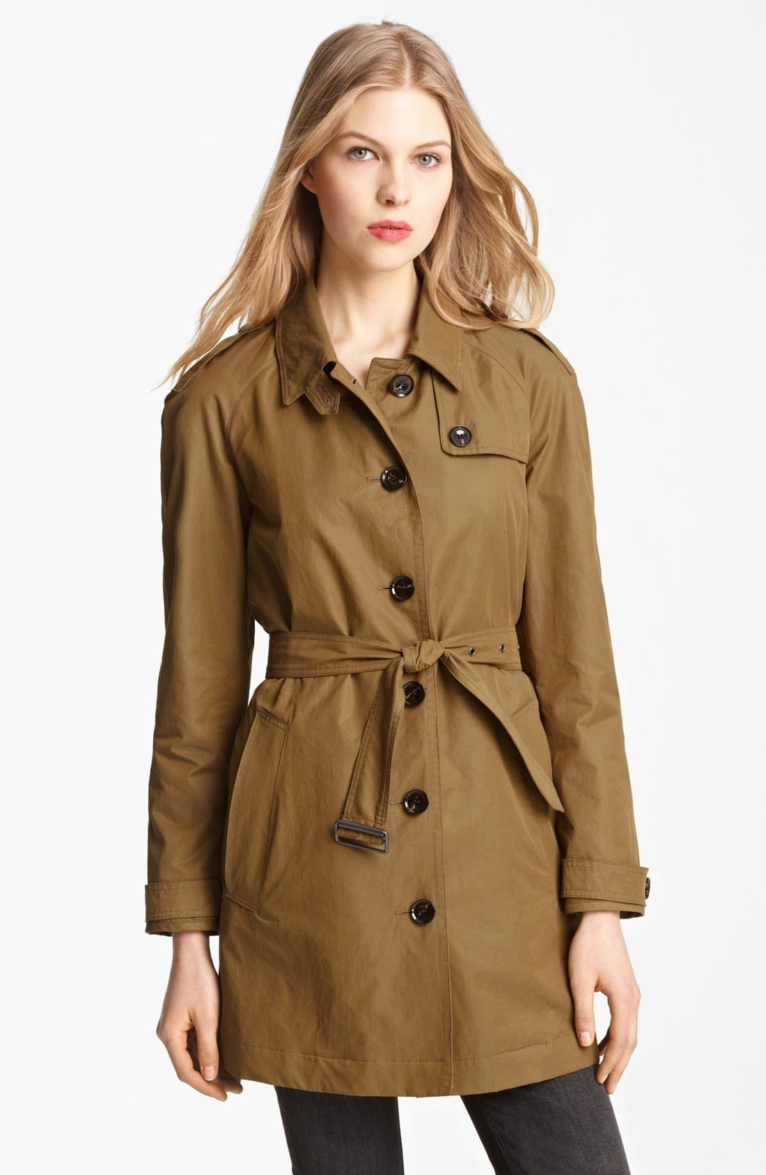 Alternate Image 1 Selected - Burberry Brit 'Eminford' Trench Coat (Online Only)