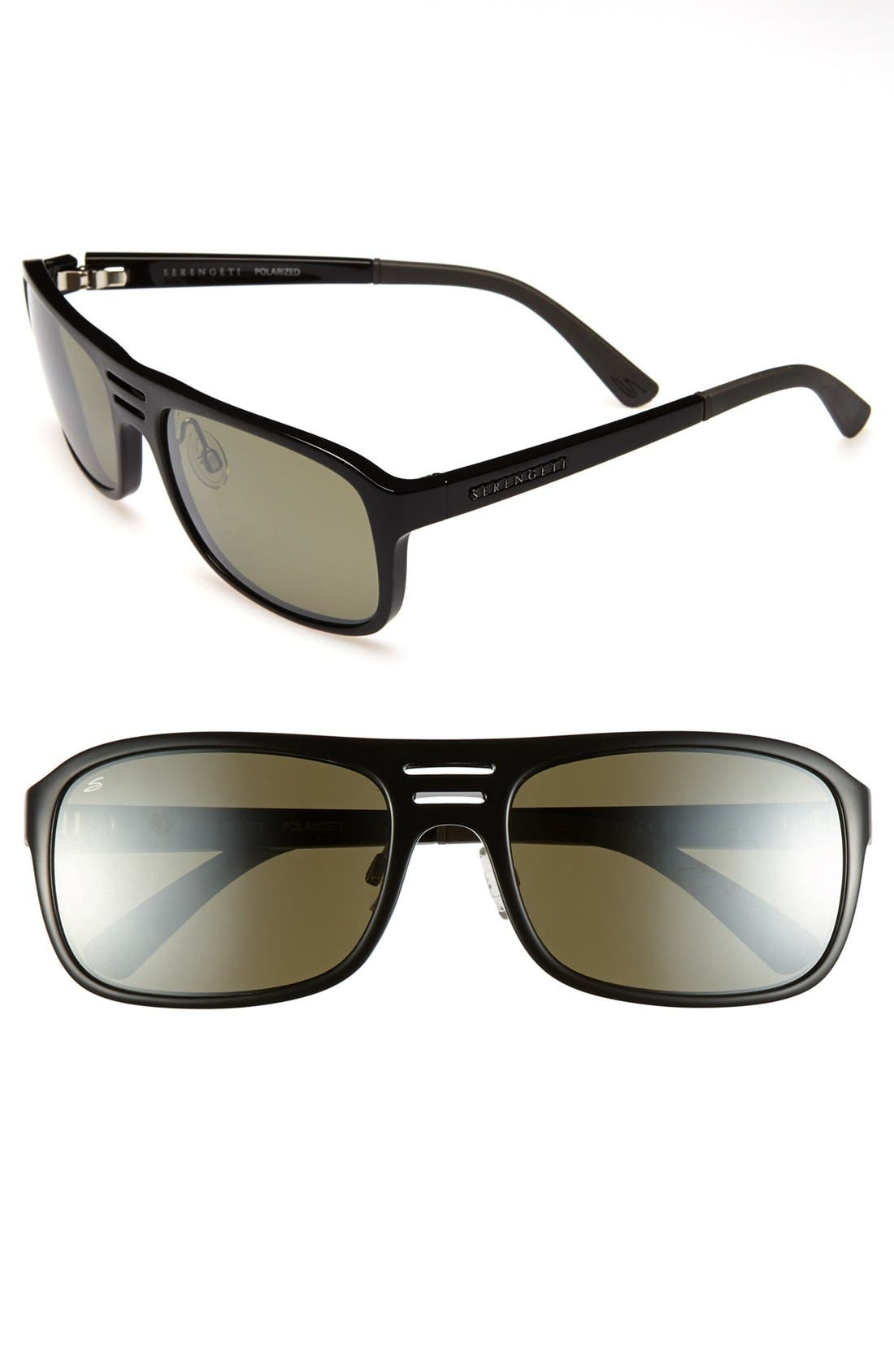 Main Image - Serengeti 'Lorenzo' 62mm Polarized Sunglasses