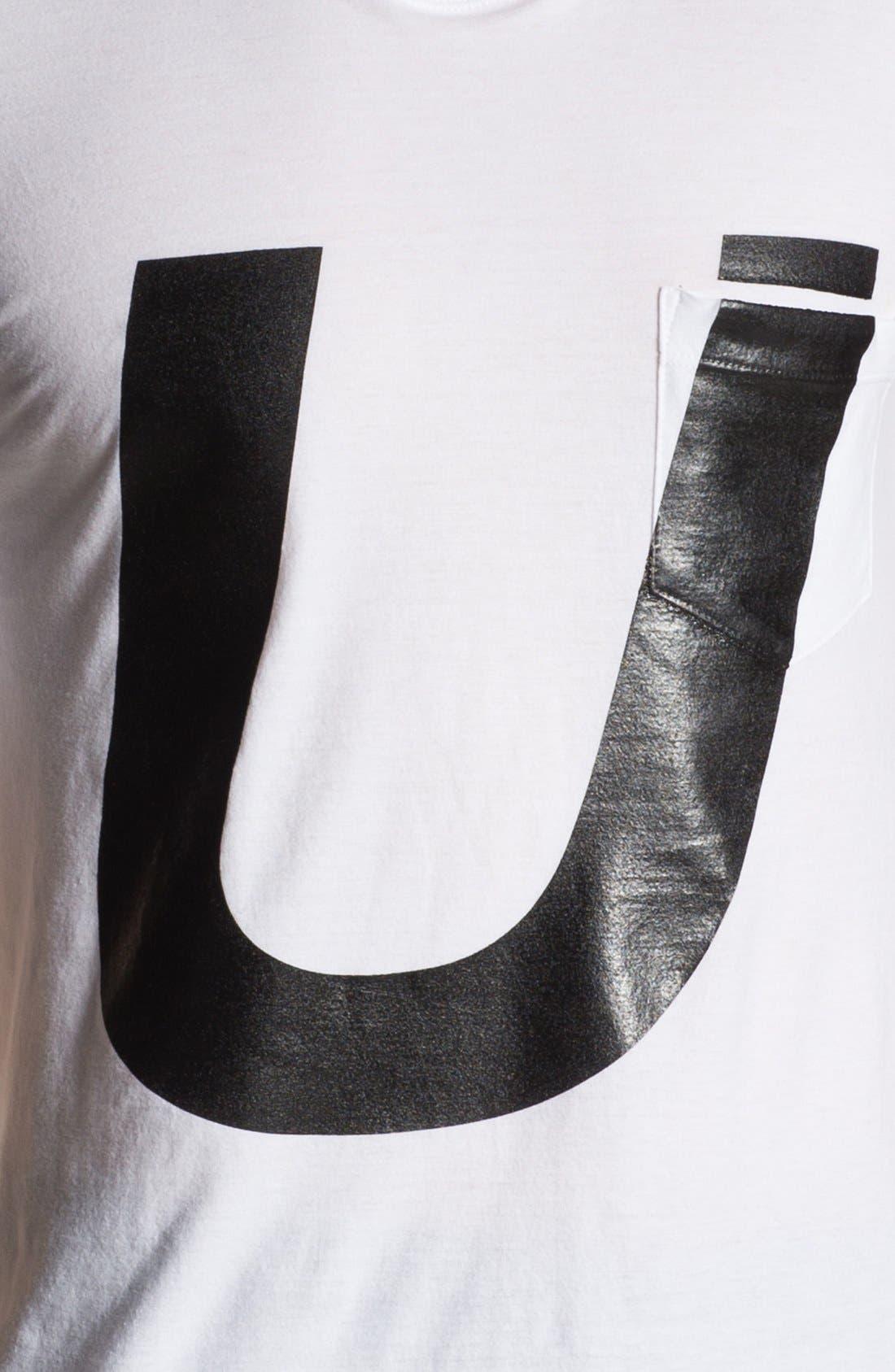 Alternate Image 3  - U Clothing 'Saul' Graphic T-Shirt