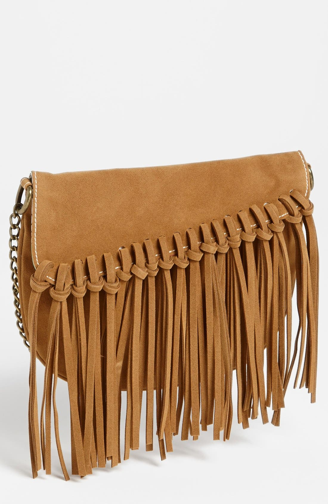 Alternate Image 1 Selected - BP. Fringe Knot Crossbody Bag (Juniors)