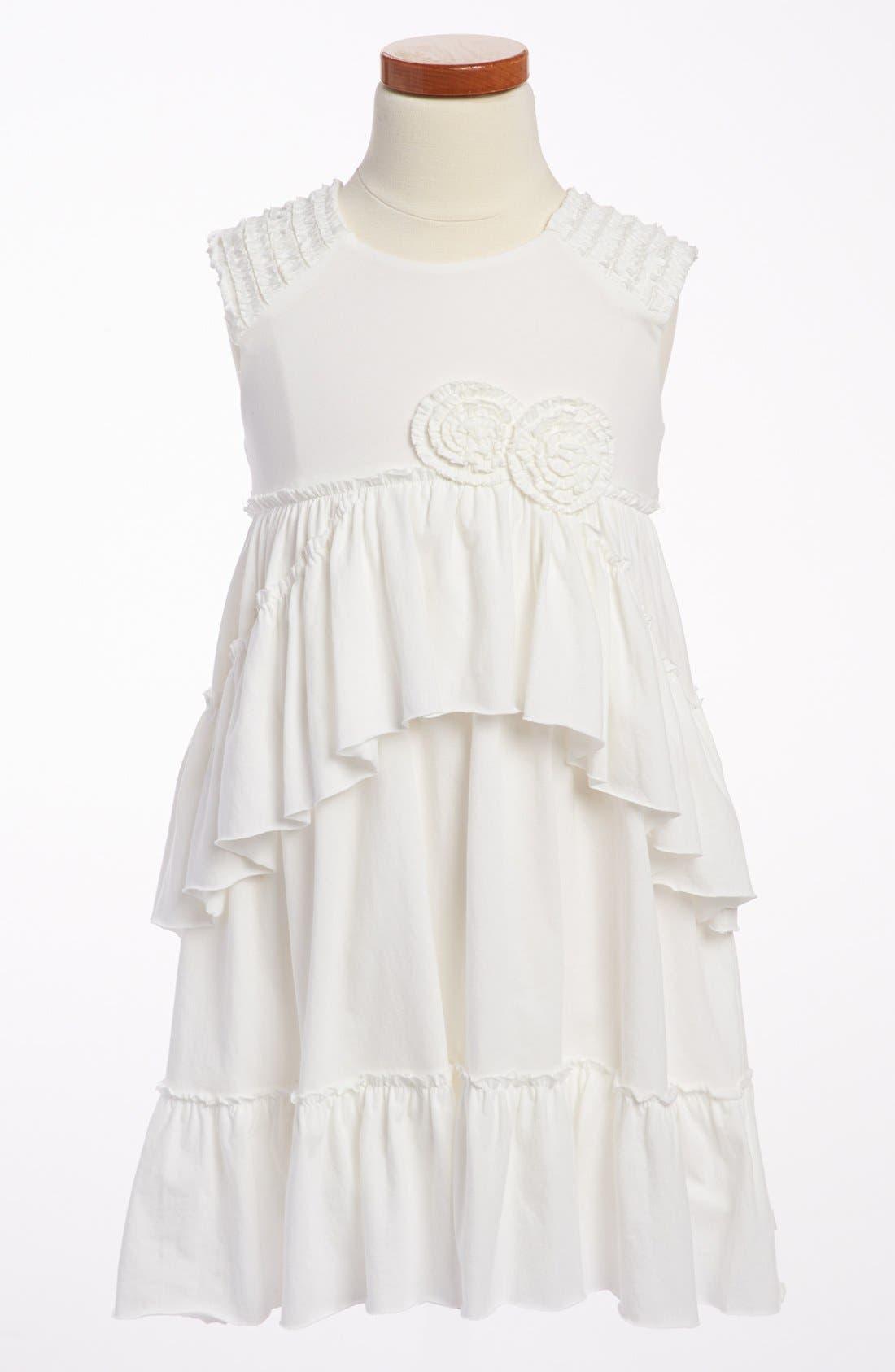 Alternate Image 1 Selected - Isobella & Chloe 'Rebecca' Ruffle Dress (Little Girls & Big Girls)