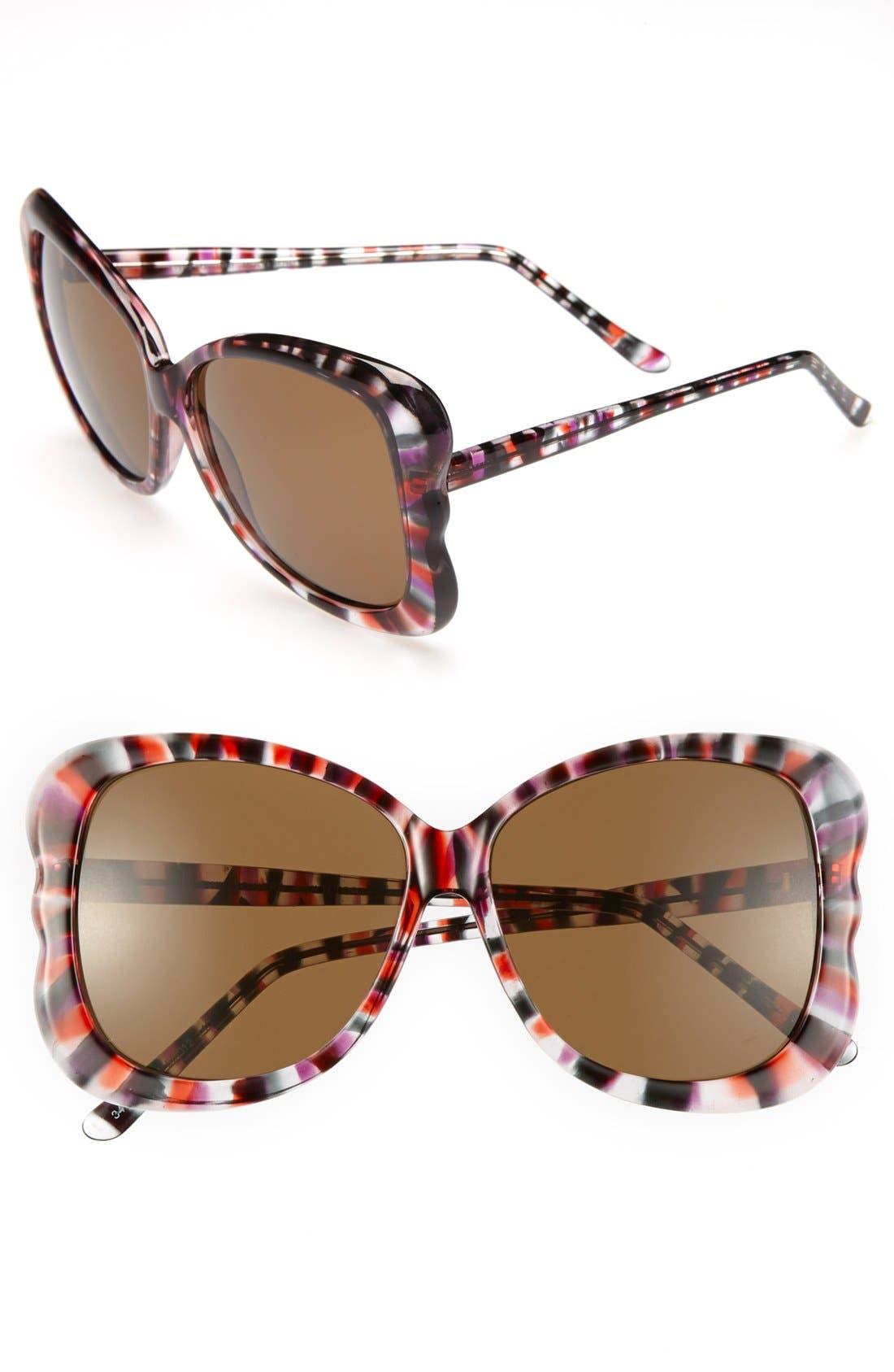 Alternate Image 1 Selected - Outlook Eyewear 'Towers' 56mm Sunglasses