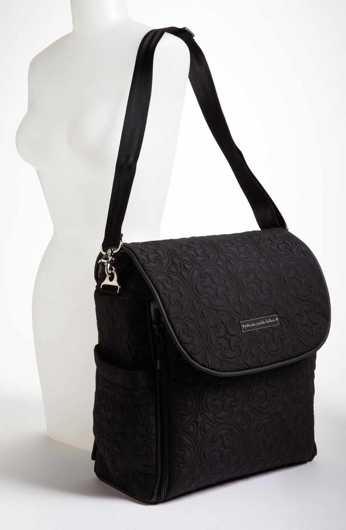 Alternate Image 2  - Petunia Pickle Bottom 'Embossed Boxy' Backpack Diaper Bag