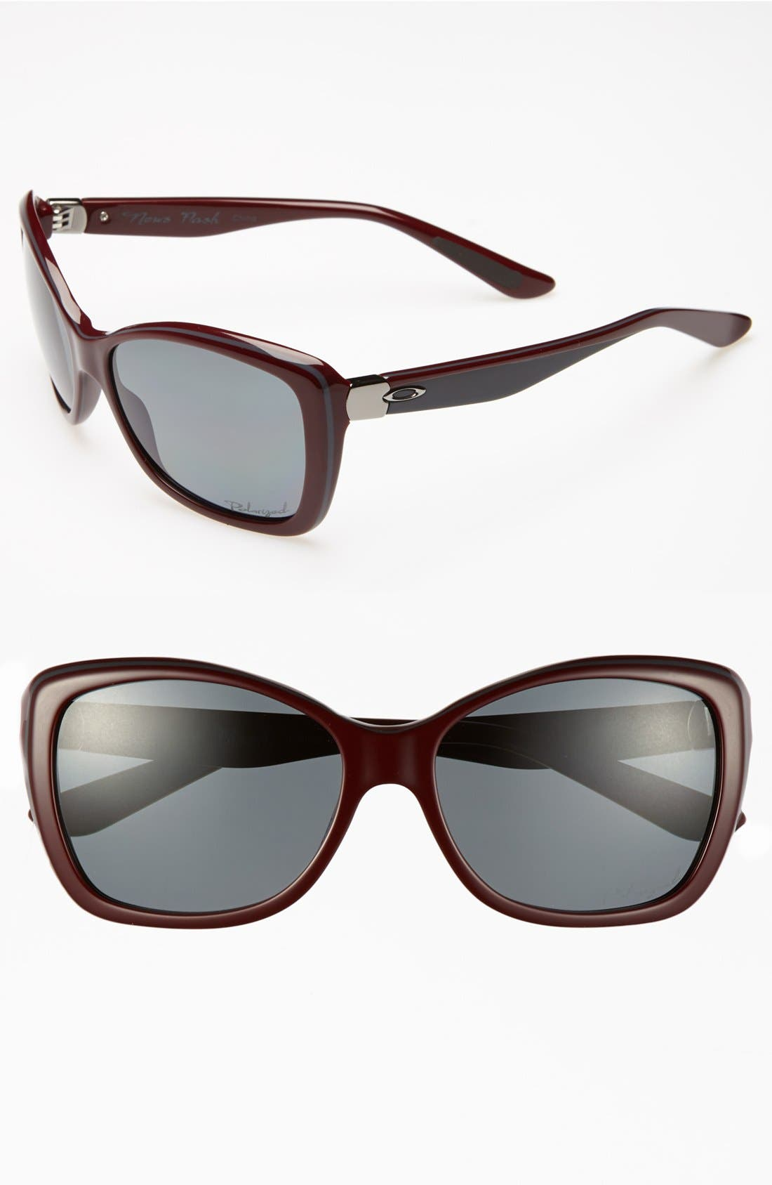 Alternate Image 1 Selected - Oakley 'News Flash' 56mm Polarized Sunglasses