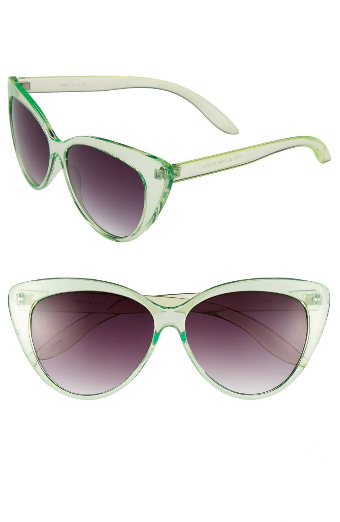 Alternate Image 1 Selected - FE NY 'Cleopatra' Sunglasses