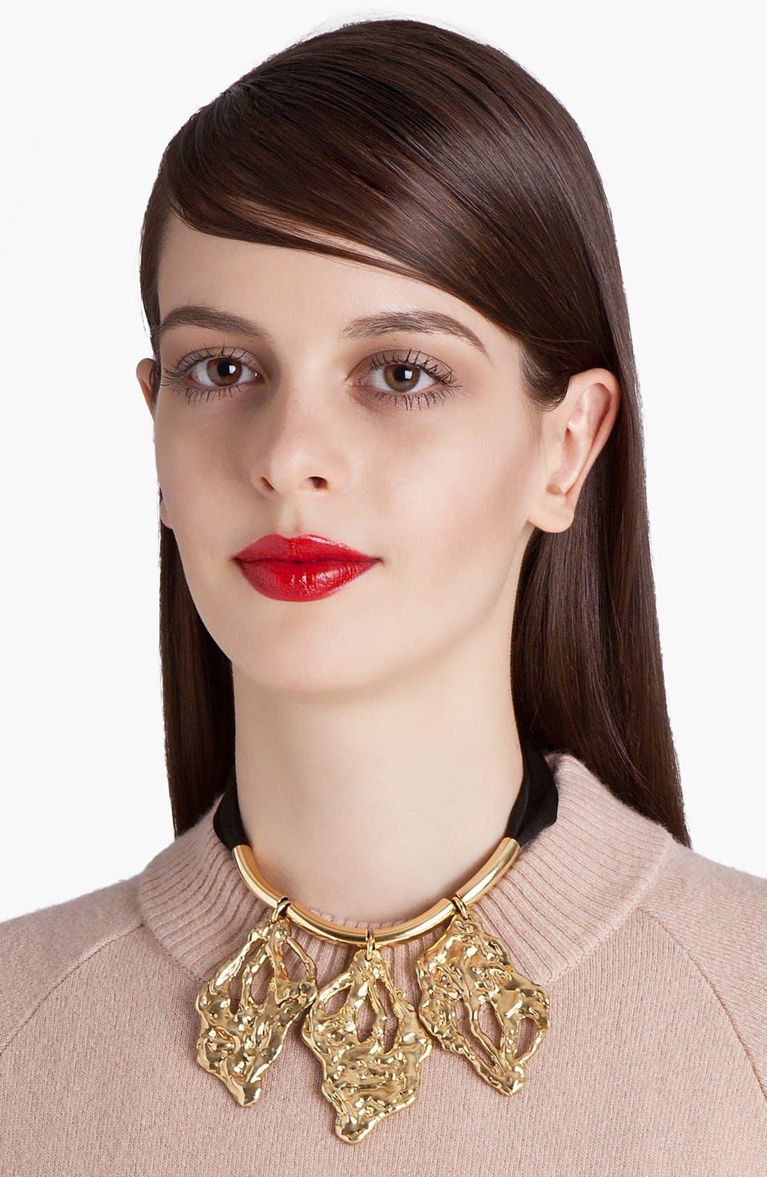 Alternate Image 1 Selected - Marni Leaf Pendant Necklace