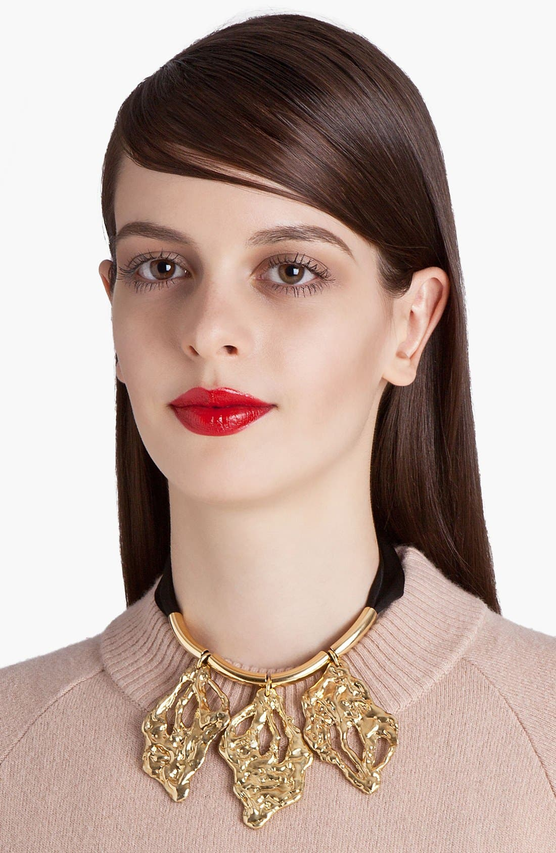 Main Image - Marni Leaf Pendant Necklace