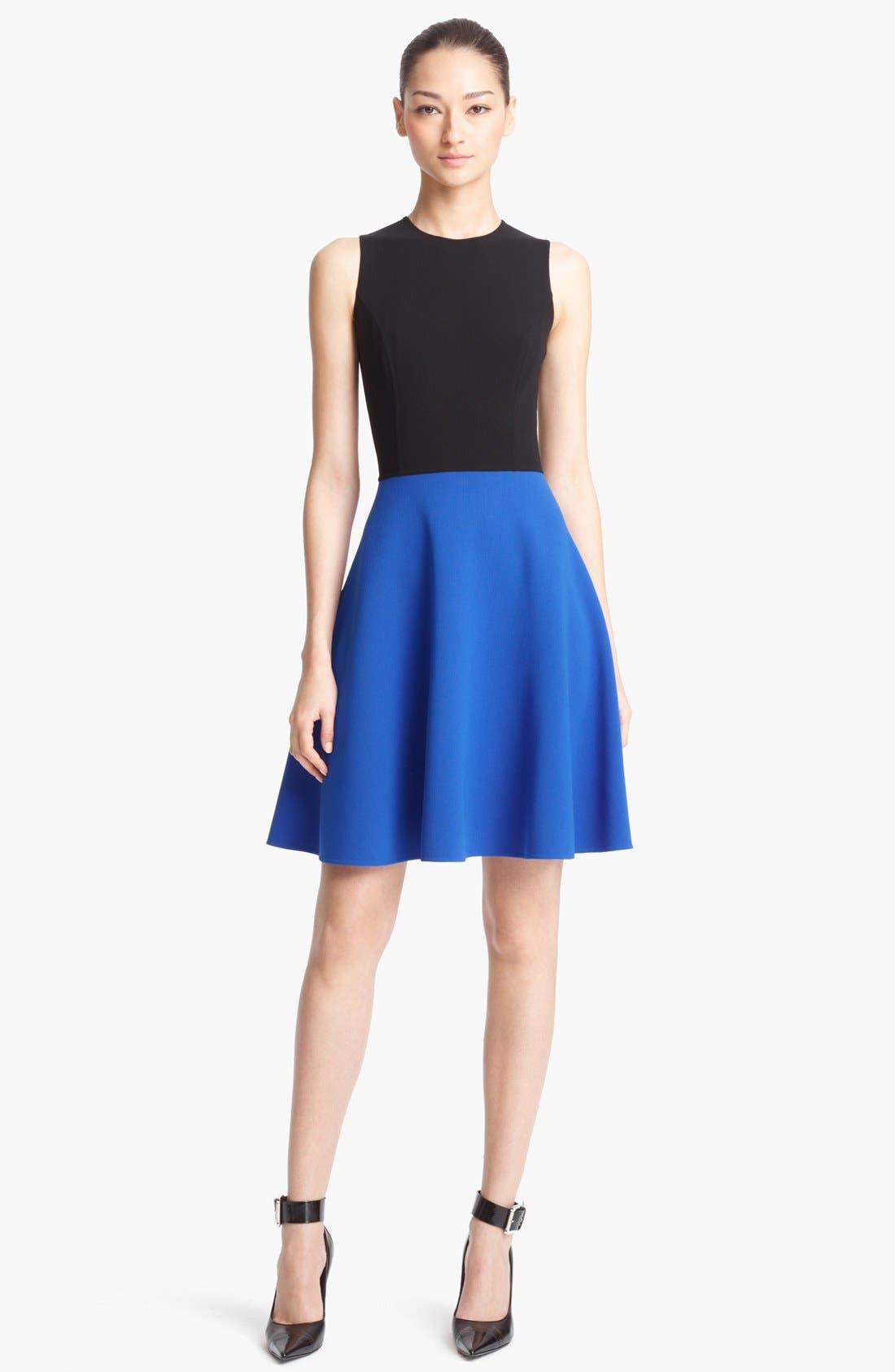 Alternate Image 1 Selected - Michael Kors Wool Crepe Dress